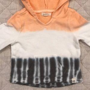 Burt's Bees Baby Shirts & Tops - NWOT Burt's Bees Baby dip dye ombré sweater